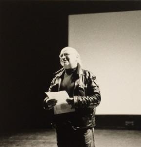 -- Kurt Kren during Q&A post 1998 Cinematheque screening at SFAI, courtesy of San Francisco Cinematheque