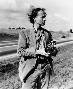 Jonas Mekas in Lithuania, 1971; photographs from A Dance with Fred Astaire
